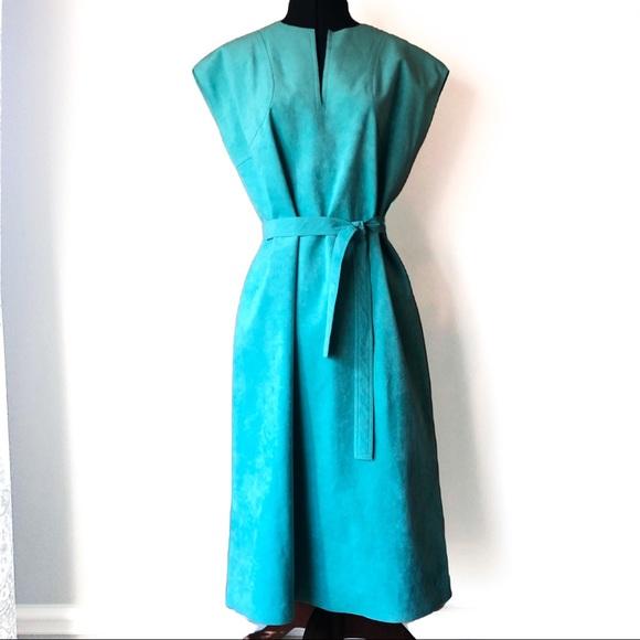 Vintage/New Abe Schrader Ultra Suede Dress Sz.14